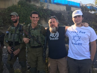 Daniel and I with the IDF