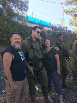 Hanging with the IDF